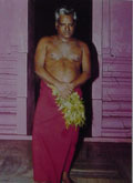 Adigalar as AMMA - in Putru Mandapam